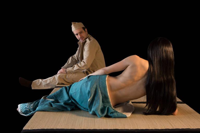 Veja cenas da peça 'Os Sete Afluentes do Rio Ota', que dura seis horas