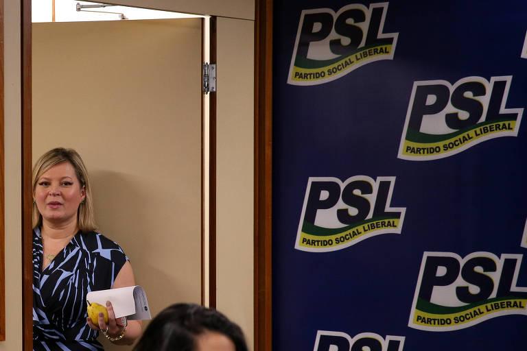 Esta é Joice Hasselmann (PSL-SP)