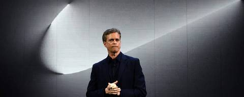 (FILES) In this file photo taken on March 16, 2016 Nike president and CEO Mark Parker reveals their latest innovative sports products during an event in New York. - Nike never participated in efforts to