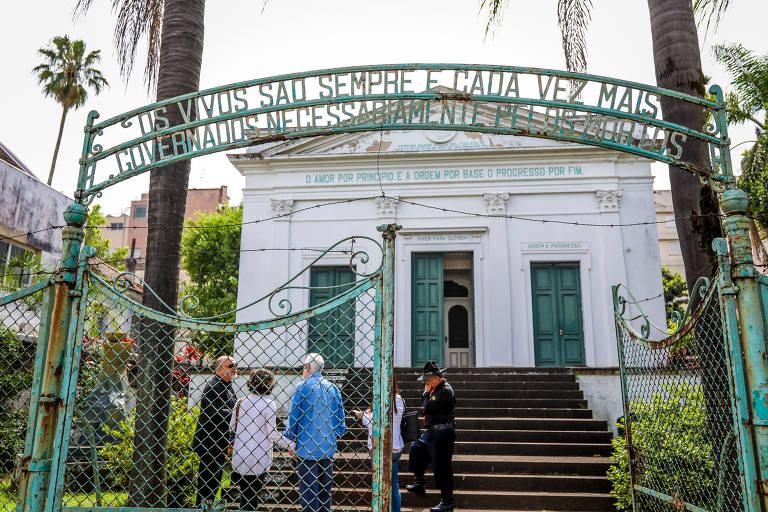Capela Positivista em Porto Alegre