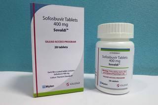 Mylan NV - Sovaldi Tablets