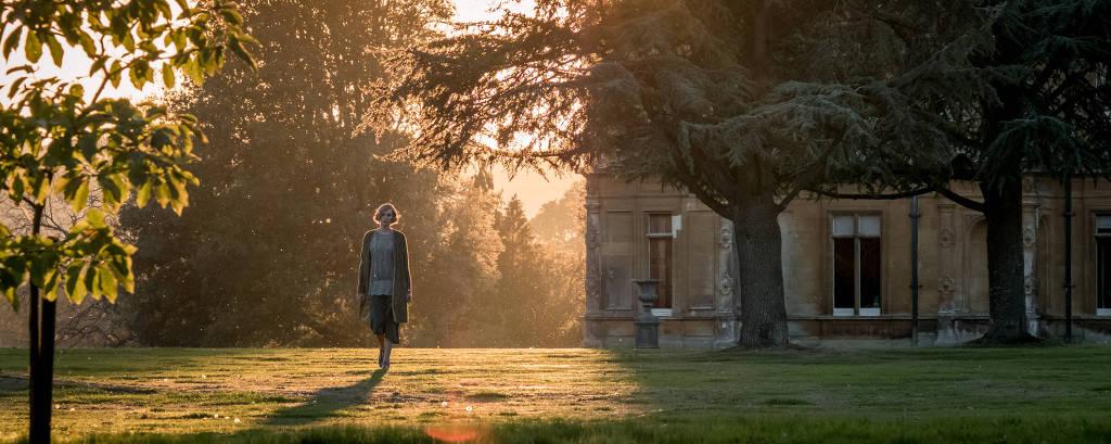 Cena do filme de 'Downton Abbey'