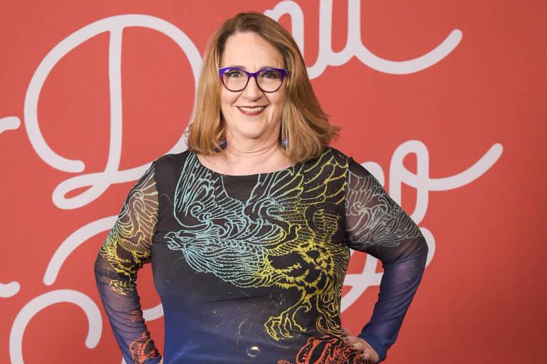 "Rosane Gofman interpreta Ellen na novela ""A Dona do Pedaço"", da Globo"