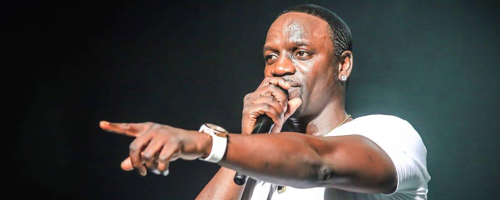 Akon faz show no Brasil no On Music Festival