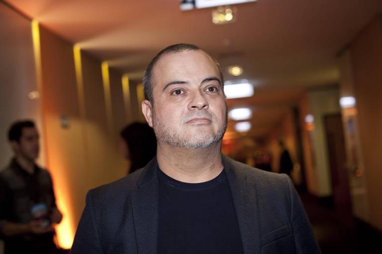 O roteirista Paulo Cursino na pré-estreia do filme 'Divórcio' no shopping Iguatemi