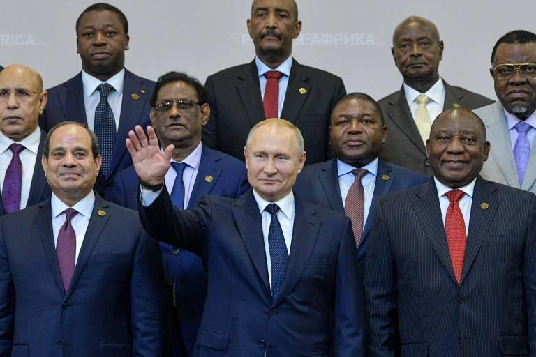 Resultado de imagem para cúpula russia africa