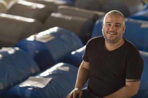 CAMBE, PR - 02 AGOSTO: Guilherme Brammer, empreendedor social e diretor executivo da Boomera, posa para foto na fabrica da empresa em Cambe, Parana, em 02 de agosto de 2019. (Foto: Renato Stockler)******PREMIO EMPREENDEDOR SOCIAL 2019******