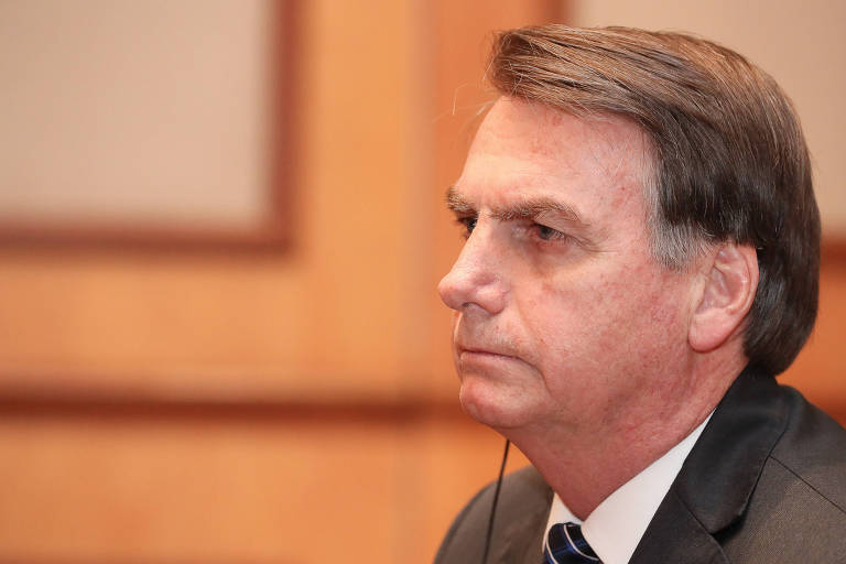 Presidente da República, Jair Bolsonaro; decreto que permite compartilhamento de dados é é contestado no Congresso