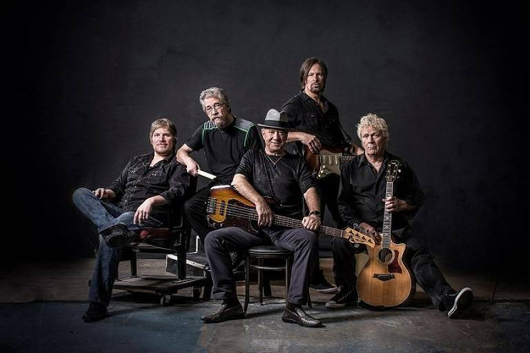 O grupo Creedence Clearwater Revisited