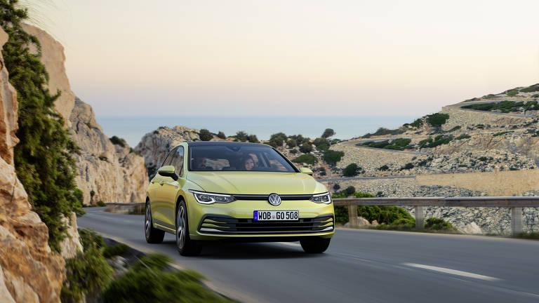 Volkswagen mostra o novo do Golf na Europa
