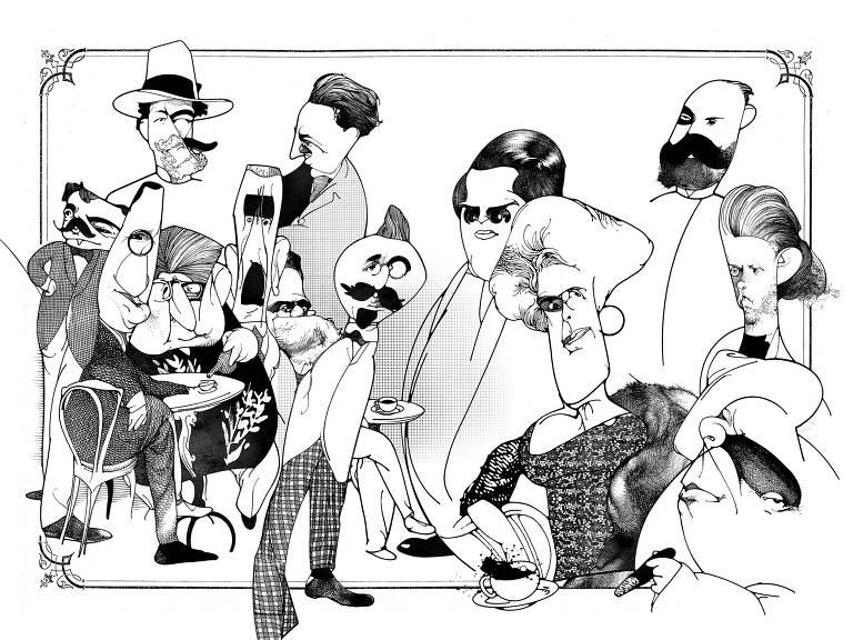 """Ilustração de Lula Palomanes para o livro """"Medo Imortal"""""""