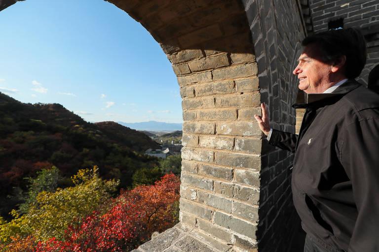 Bolsonaro visita China e Japão