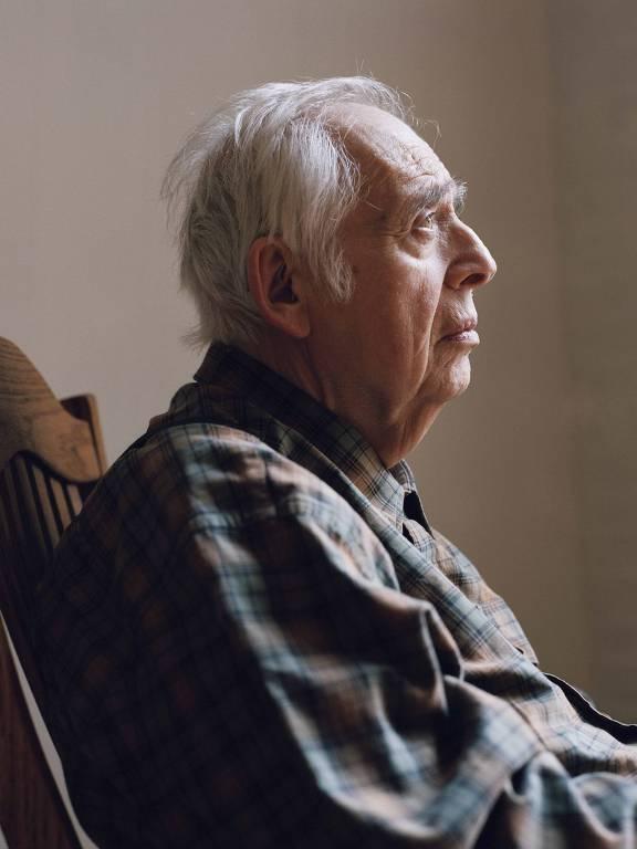 Harold Bloom de perfil