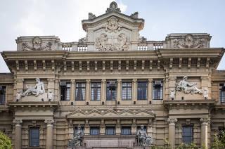 Fachada do prédio do Palácio da Justiça de São Paulo