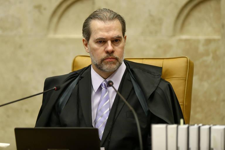 O ministro Dias Toffoli, presidente do STF, que suspendeu inquéritos no país com dados do Coaf