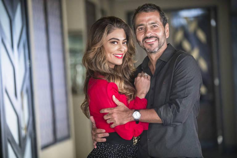 Separado ao longo de 'A Dona do Pedaço', casal volta a se juntar no final da novela da Globo