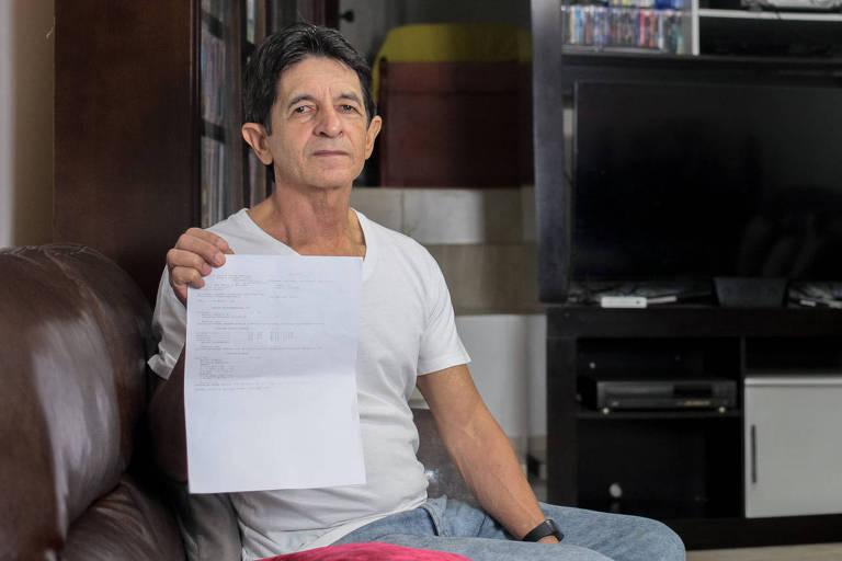 O servidor aposentado João Pereira de Melo, 70 anos, de Perus (zona norte), relata que já tentou agendar a consulta várias vezes, mas sem sucesso