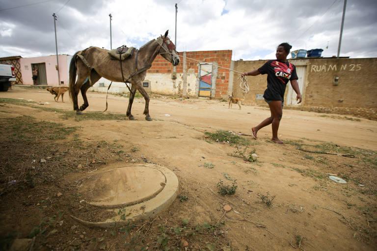 Vitória da Conquista (BA), cidade do Norte-Nordeste com maior percentual de atendimento de saneamento básico, com cobertura que chega a 96,7% das residências ocupadas da zona urbana