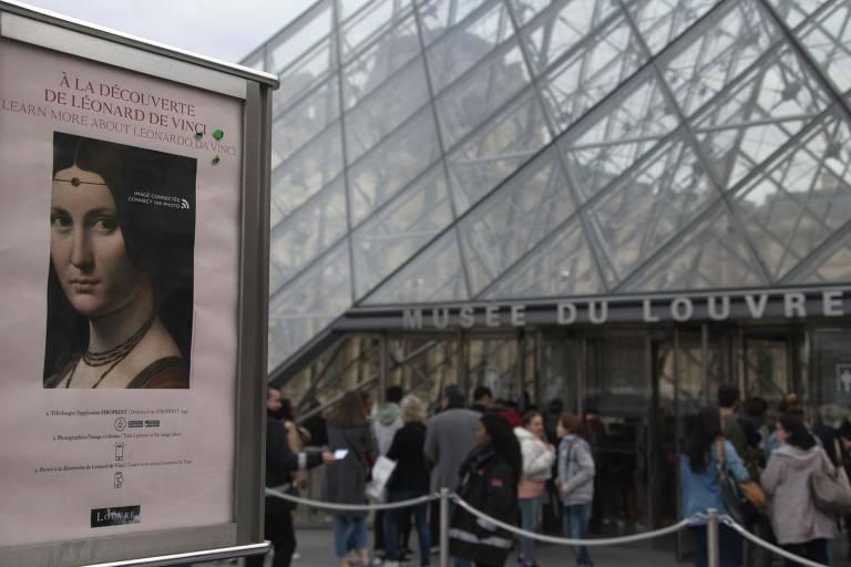 Veja imagens da exibição 'Leonardo Da Vinci', no Louvre