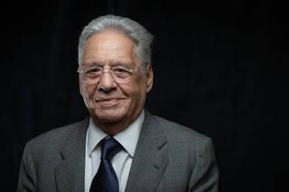Fernando Henrique Cardoso em entrevista à Folha
