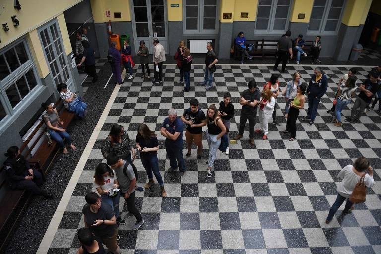 Primeiro turno da eleição no Uruguai