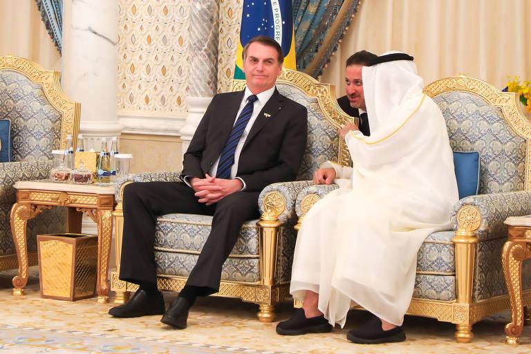 Bolsonaro envia ao Congresso acordo de troca de dados sigilosos com Emirados Árabes