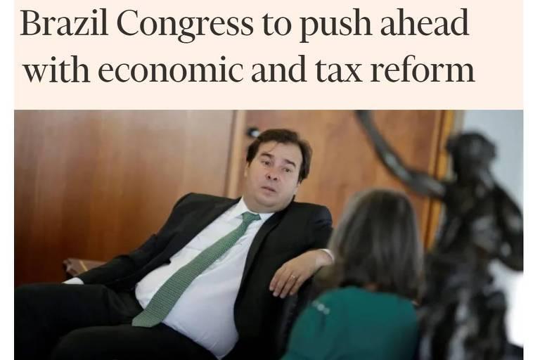 Reforma só afastou falência, falta crescer, avisa Bloomberg