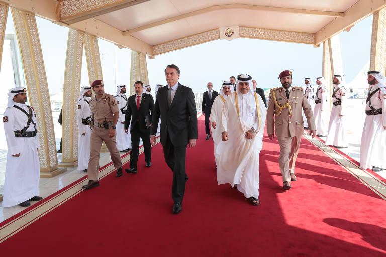 Bolsonaro visita o Oriente Médio