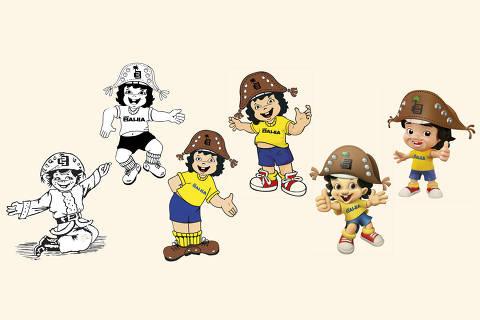 Evolução do logo da Casas Bahia