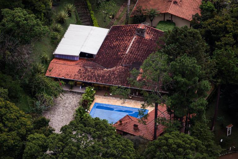 Sítio que o ex-presidente Lula frequentava em Atibaia (SP)