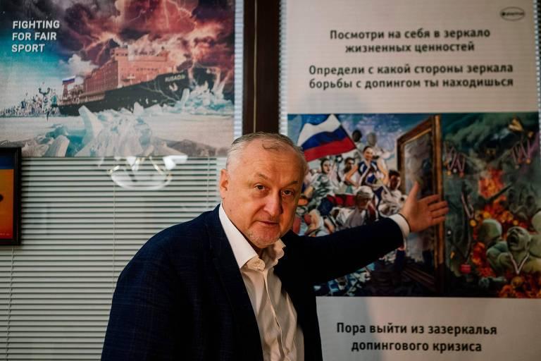 Yury Ganus, presidente da Rusada, a Agência Antidoping da Rússia