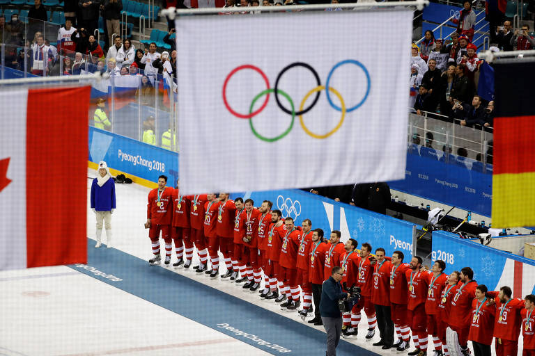 Atletas russos competiram sob a bandeira do Comitê Olímpico Internacional em Pyeongchang-2018
