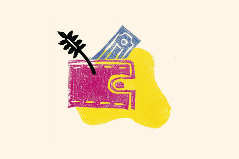 Ilustração da categoria Top Finanças da Folha Top of Mind 2019