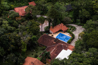 Sítio que o ex-presidente Lula frequentava em Atibaia/SP