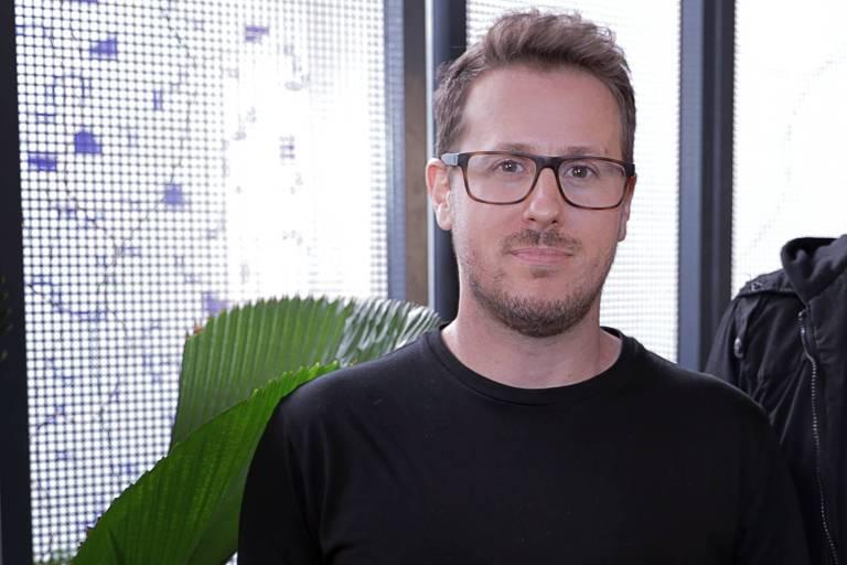 Marcelo Bruzzesi,  35, diretor-executivo de criação da Ampfy