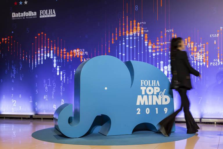 Festa de premiação Top Of Mind, realizada na casa de show Tom Brasil
