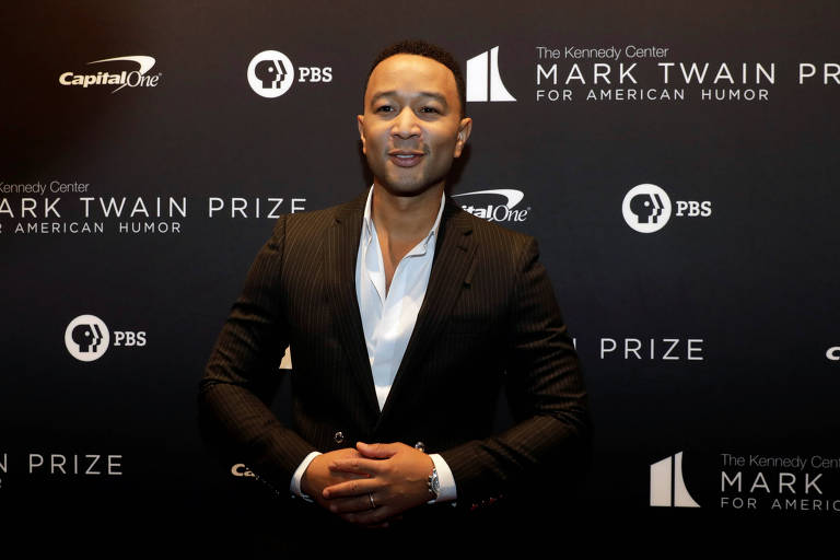 John Legend durante evento em Washington