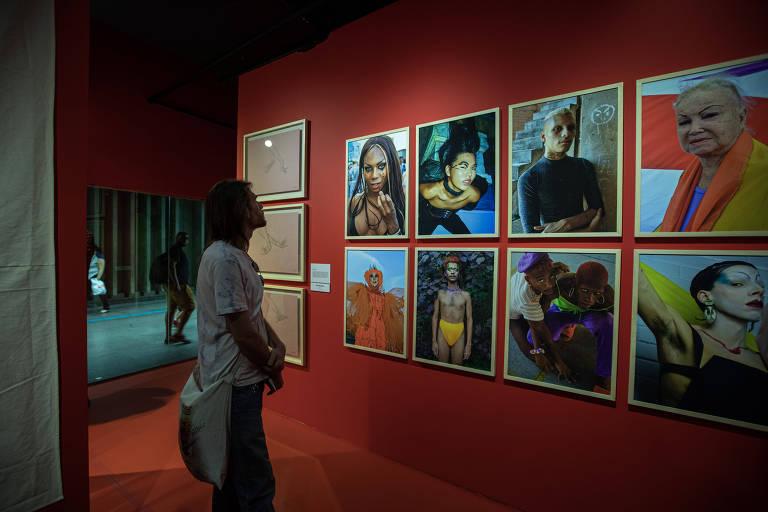 Abertura da Mostra Diversa, no Museu da Diversidade Sexual. (Foto Marcelo Justo)