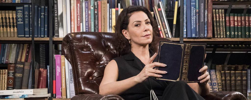 A atriz Fabiula Nascimento interpreta Nana em