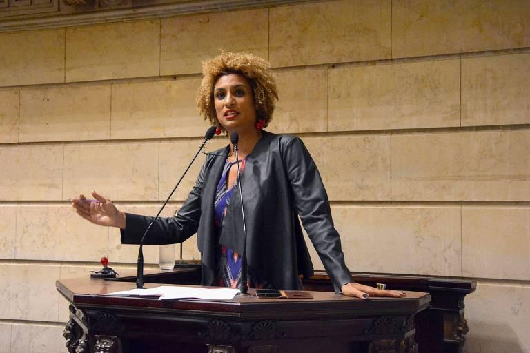 Marielle Franco lidera sessão na Câmara Municipal do Rio de Janeiro
