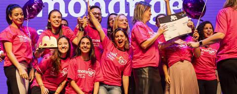 SÃO PAULO - SP - BRASIL - 29.10.2019 - 20h00: PREMIAÇÃO TOP OF MIND. Festa de premiação Top Of Mind, realizada na casa de show Tom Brasil. (Foto: Adriano Vizoni/Folhapress, TOP OF MIND) *** EXCLUSIVO FSP ***