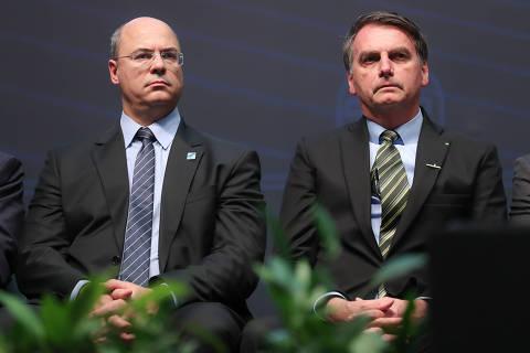 Bolsonaro e Mourão se irritam com Witzel após governador gravar e divulgar conversa com vice