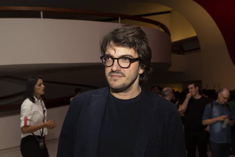 O produtor de cinema Rodrigo Teixeira em outubro deste ano
