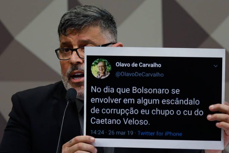 Frota diz ter recebido ligação de Bolsonaro após defender prisão de Queiroz