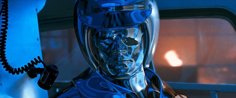Exterminador T-1000 de 'O Exterminador do Futuro 2: O Julgamento Final' (1991)