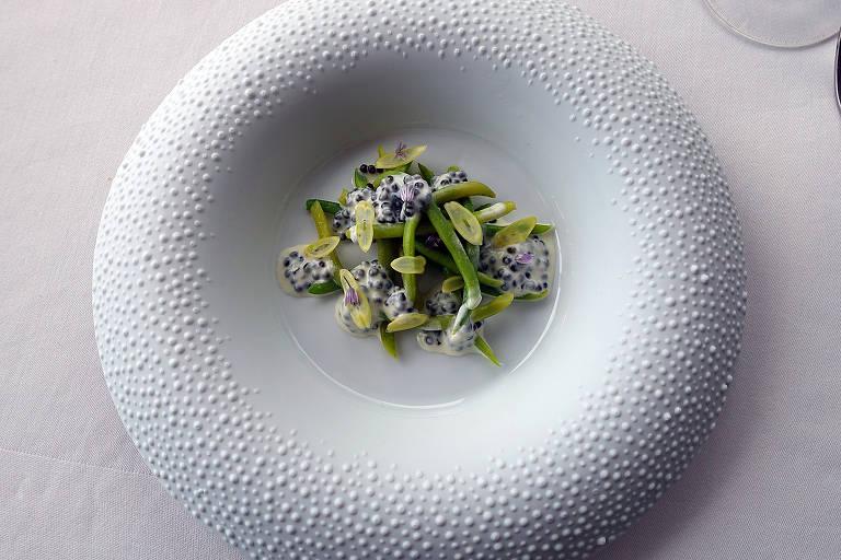 Pratos do Mirazur, eleito o melhor restaurante do mundo