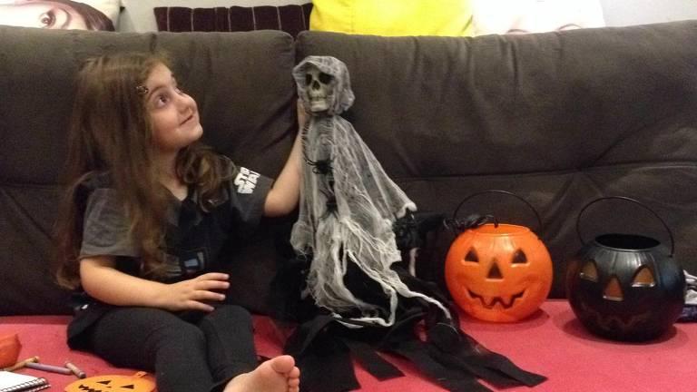 Comemoração do Halloween nos condomínios em SP