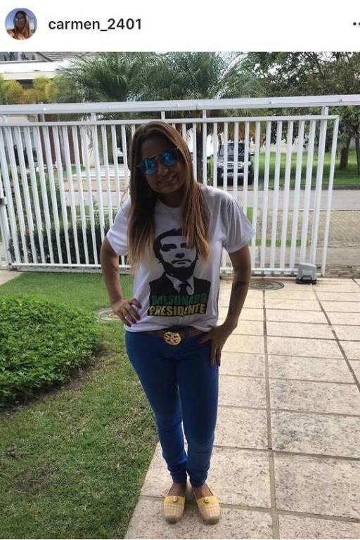 A promotora Carmen Carvalho, membro da equipe do Ministério Público do Rio de Janeiro que investiga a morte da vereadora Marielle Franco (PSOL)