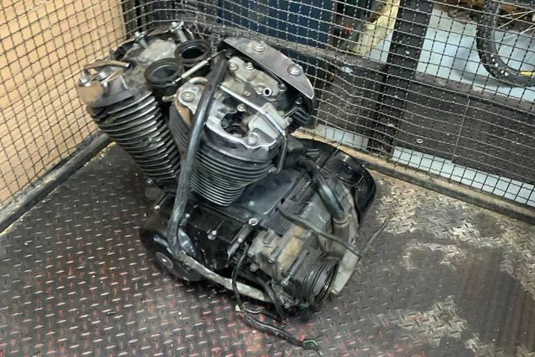 motores harley roubados