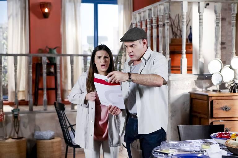 O segundo teste de DNA de Poliana fica pronto, e Luisa confirma o que mais temia